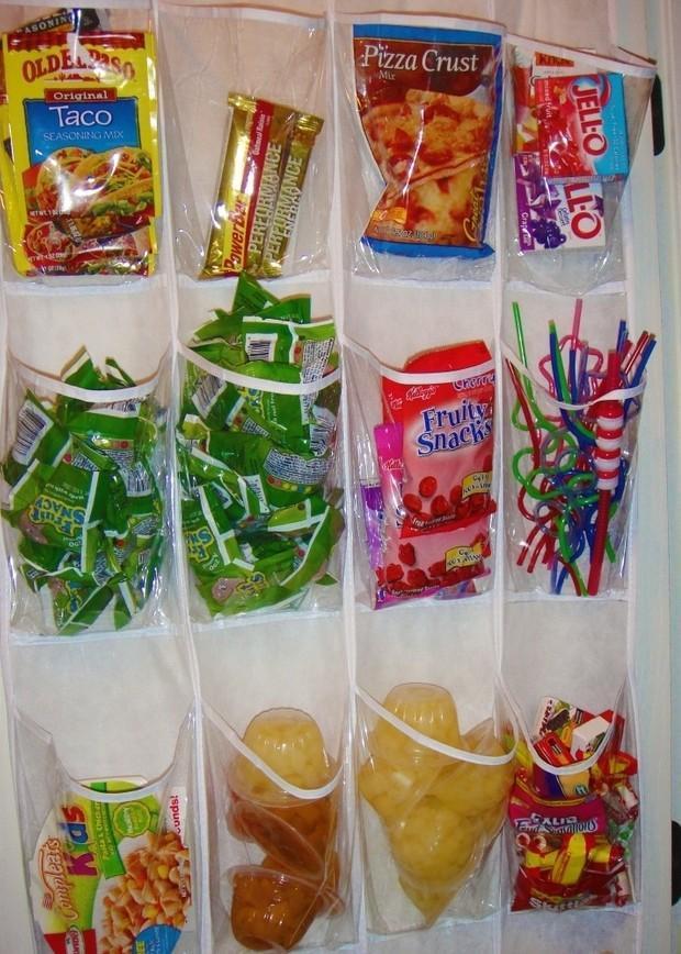 Plastični predalčki so odlični za razvrščanj