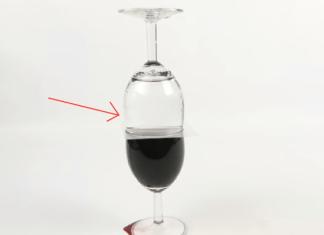Kozarec vina in kozarec vode, zgodi se čudež