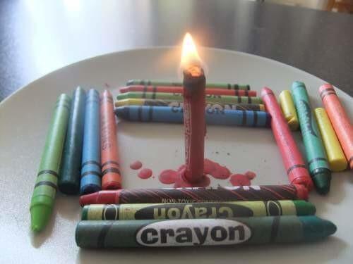 Namesto sveč uporabite voščenke