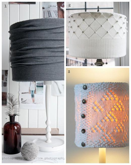 Okrasite moderne svetilke