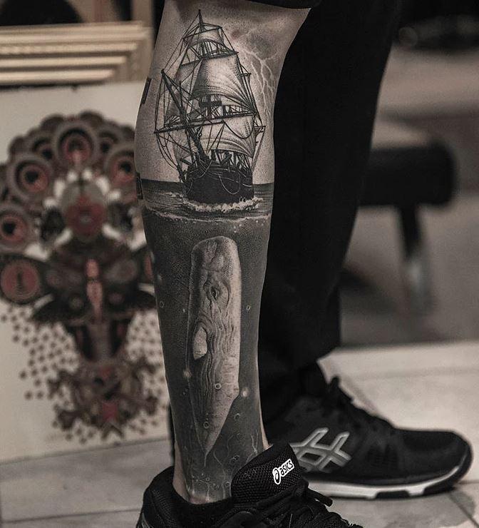 tetovaže na nogah