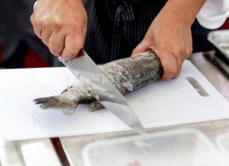 čiščenje ribe