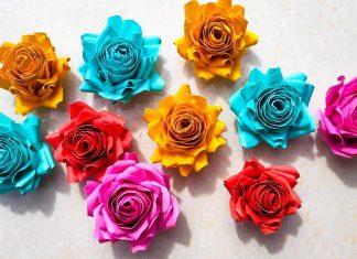 roža iz papirja